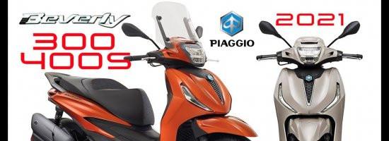 Piaggio představilo Beverly pro rok 2021