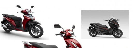 Honda Vision, SH 125 a Forza 125 v novém kabátě pro rok 2017