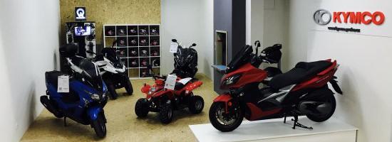 Kymco otevírá novou prodejnu na Praze 9
