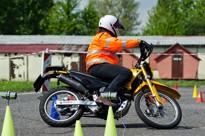 motogymkhana v kolíně odstartovala sezónu