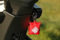 TUCANOURBANO - nákupní taška v klíčence na skútr
