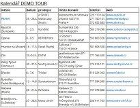 SCOOTER DEMO TOUR 2015 ČR