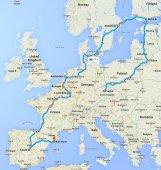 Schengenom na skútri