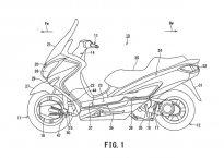 Hybridní skútr od Suzuki? Scifi nebo realita?