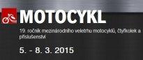 MOTOCYKL 2015 - veletrh motocyklů, čtyřkolek a příslušenství