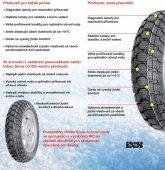 Zimní pneu pro skútry aneb v zimě bezpečně