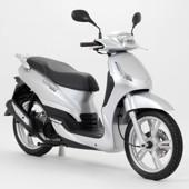 Peugeot Tweet - šedá/chrom (150ccm)