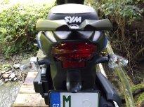 sym crox 125 - offroad s variátorem