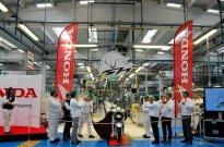 V závodě Atessa společnosti Honda byl vyroben miliontý skútr SH