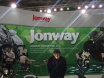 Stánek JONWAY MOTORCYCLE