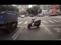 Scooters on the road Compilation 2013