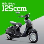 Přehled skútrů do 125 ccm pro rok 2015