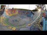 Skatepark ride on Yamaha Slider