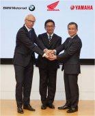 Honda, BMW Motorrad a Yamaha spolupracují na dalším zvýšení bezpečnosti jednostopých motorových vozidel