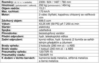 Kymco Myroad 700i ABS - technické parametry