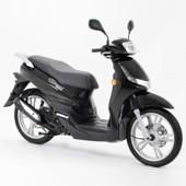 Peugeot Tweet - černá/chrom (50 ccm)