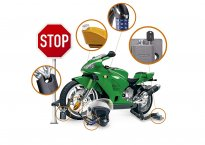 Nenechte si ukrást motorku: Tipy na zabezpečení doma i na cestách