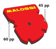 Malossi DOUBLE RED SPONGE